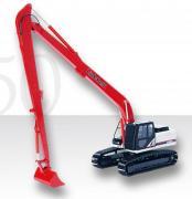 LINK BELT Excavator LBX 250X3 wirh  long range boom