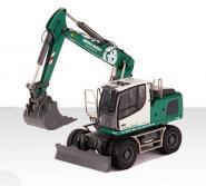 "LIEBHERR Wheeled Excavator A920 with Bucket and Grab ""Georg Bieber"""