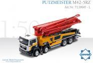 MAN TGS 4achs mit PUTZMEISTER Betonpumpe M42-5RZ