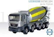 MAN TGS 5achs mit LIEBHERR Mischeraufbau HTM 1204, gold-schwarz