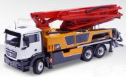 MB Actros 3axle with PUTZMEISTER concrete pump M38-5