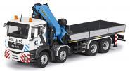 "MAN TGS 4axle with PALFINGER Loading crane PK530002 ""BOK SENK"""