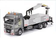 "MAN TGX XLX Euro6 with PALFINGER loading crane ""Wörmann"""