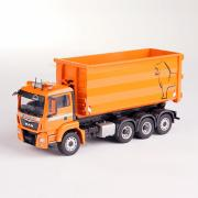 MAN TGX M 4achs Abrollkipper, orange