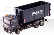"MAN TGS with MEILLER> unroll tipper ""ALBA"""