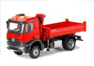 MB Arocs 2axle with Tipper, red