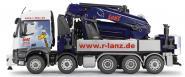 "MB Arocs 5axle with PALFINGER loading crane PK200002L ""r-lanz.de"""