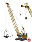 LIEBHERR hydro-cable crane HS855HD