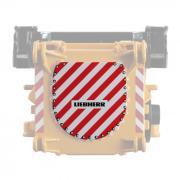 T3 Transportwarntafel für LTM11200-9.1 Ausleger