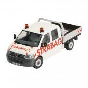 "VOLKSWAGEN Transporter mit Doppelkabine T5 ""Strabag"""