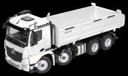 MB Arocs 8x4 with MEILLER Tipper, white