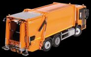 MB  Econic garbage truck with FAUN Variopress, orange