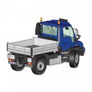 MB Unimog U400, blau
