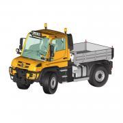 MB Unimog U400, orange