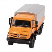 MB Unimog U5000 mit Plane, orange