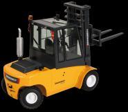 JUNGHEINRICH TFG680 - LPG fork lift truck