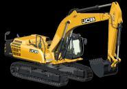 JCB tracked excavator JS360LC