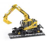 LIEBHERR mobile excavator A922 Rail
