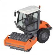 HAMM Compactor H7i with pad foot