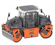 HAMM Tandem roller DV + 90 VO-S with vibratory and oscillating drum