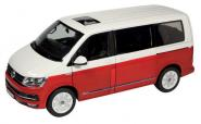VW T6 Multivan Generation Six, rot/weiss