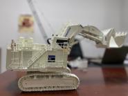 KOMATSU Excavator PC8000-11 Diesel Shovel, white