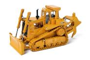 1CAT Dozer D9L Scraper Pusher and 1-Tooth-Ripper