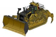 CAT Dozer D11T CD with 3-teeth-Ripper