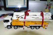 FOTON 4axle truck with LOVOL concrete pump