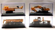 XCMG Construction Set ( 4 different Machines )