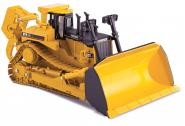 CAT dozer D11R CD with metal tracks