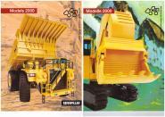 Set mit NZG + CAT-Modell Katalog 2000