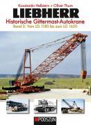 Buch: LIEBHERR Historische Gittermast-Autokrane Band 2