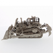CAT Track Type Tractor D11T, Matt Silver plated