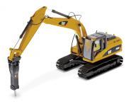 CAT Bagger mit Hammer 320D L