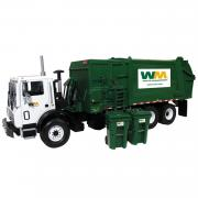 "MACK TerraPro HEIL Side Load Refuse Truck with Bins ""Waste Management"""