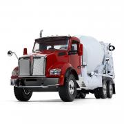 KENWORTH T880 with McNEILUS Standard Mixer, red/white