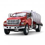 FORD F-650 Roto Molded Water Truck, red/white