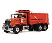 PETERBILT Model 367 Dump Truck, orange