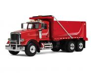 PETERBILT Model 367 Dump Truck, red