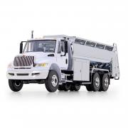 INTERNATIONAL DuraStar with Liquid Fuel Tank Body, white-chrome