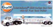 "INTERNATIONAL 8600 with 42`Fuel Tank Trailer ""Gulf"""