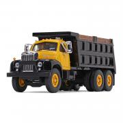 MACK B-61 Dump Truck, yellow/black