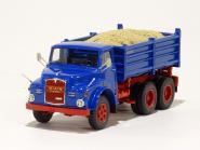 MAN 19.230 DHAK 6x6 w/3 Side Tipper, blue