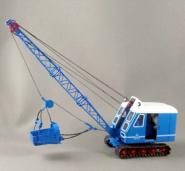 KRUPP DOLBERG Cable Crane D300 with white cap, blau