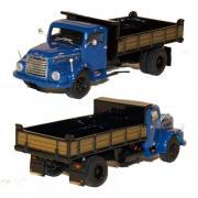 STEYR 586 2achs Kipper, blau