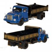 STEYR 586 2axle Dump Truck, blue