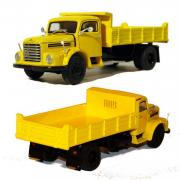 STEYR 586 2axle Dump Truck, yellow-red