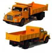 STEYR 586 2axle Dump Truck, orange/red