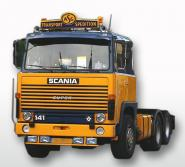 """SCANIA S1 6x4 Solotruck """"ASG"""""""